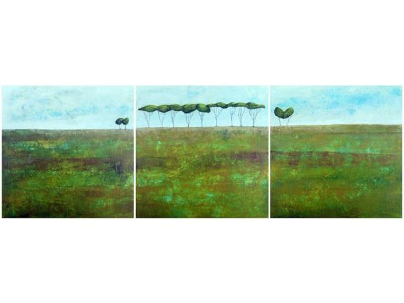 Morag Smith found journey and love triptych