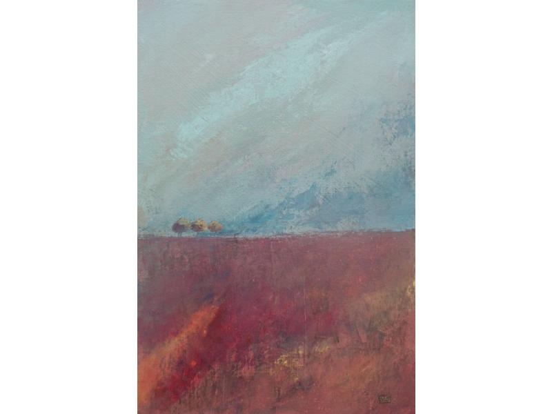 Morag Smith THREE TREES RED FIELD